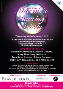 Strictly Dancing with Anneliese